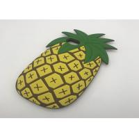 China 3D Cartoon Fruit Summer Pineapple Phone Case For IPhone 8 Soft Silicone Cover on sale