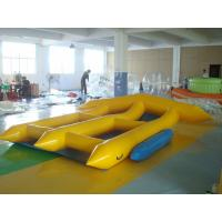 Wholesale 2 Person Inflatable Toy Boat , PVC Tarpaulin Inflatable Water Flyfish from china suppliers