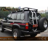 Buy cheap Car Roof Rack All steel universal Rain Gutter Mounting black offroad roof from wholesalers