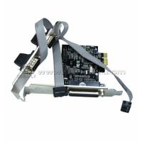 IEEE1284 RS232 PCI Cards With 2.5GB / s Full Duplex channel , PCI Network Card for sale
