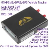 Wholesale GPS106 Car Auto Taxi Truck Fleet GPS GSM Tracker W/ Photo Snapshot & Online GPRS Tracking from china suppliers