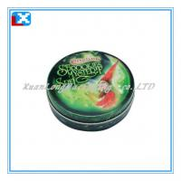 Wholesale round candy mint tin can from china suppliers