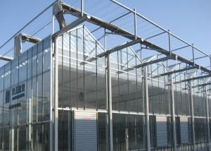 Wholesale Sided Ventilated Cooling Pad Multi Span Greenhouse from china suppliers