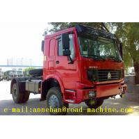 Wholesale Sinotruk Howo Prime Mover Truck 336hp 4x2 Tractor Truck Dimension  6110 X 2496 X 2958mm With 2.0inch from china suppliers