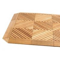 Wholesale HIQUALITY WPC DECKING TILE, DECKING TILE, WOOD PLASTIC COMPOSITE DECKING TILE from china suppliers