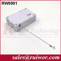 Quality Market Purchase Retractable Retail Security Cable With Ring Terminal 7.1x4.5x2.1 for sale