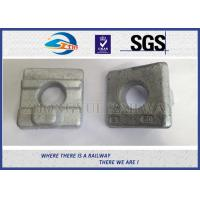 Wholesale Crane Rail Clips For Railroad Construction / Railway Fasteners KPO Rail Clamp from china suppliers