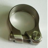Wholesale Titanium Bicycle Seat Clamp 34.9, 31.8, 28.6mm from china suppliers