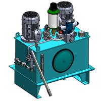 Wholesale High Pressure AC380V 4KW Industry Hydraulic Power Units with 2 Motors from china suppliers