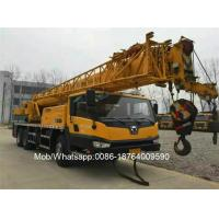 Wholesale XCMG Brand 25 Ton Small Truck Mounted Crane QY25K-II 3.825m Span Two Arms from china suppliers