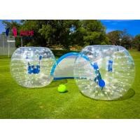 China Customize Inflatable Zorb Ball / Bubble Football Bumper Human Hamster Ball OEM Accepted on sale