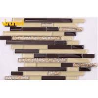 Wholesale 3 × 4 Acid - Proof Painted KTV / Bathroom Glass Mosaic Tiles With TUV from china suppliers