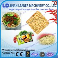Wholesale Instant noodles process line noodle making machine food processing equipment from china suppliers