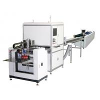 Wholesale Full Automatic Hard Case Making Machine / Automatic Positioning Gluing Machine from china suppliers