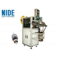 China Rotor Insulation Paper Insertion Machine With Low Pressure Alarm Function for sale