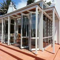 Wholesale Wide Space Aluminium Folding Doors For House High Thermal Performance from china suppliers