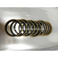 Wholesale Coffee And Golden Color Hydraulic Piston Seals PTFE + Bronze + NBR / Cylinder Seal Kit from china suppliers