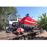 Buy cheap 360° turning and telescopic and max 100T Lifting capacity Hydraulic Crawler Crane CQUY100I from Wholesalers