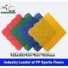 Basketball PP Sport Floors, Interlocked PP Sport Tiles China leading manufacturer for sale