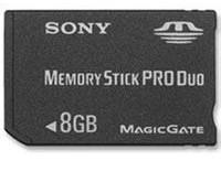 China Sony 8 GB Memory Stick ProDuo on sale
