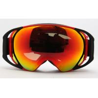 Wholesale UV400 Customized Snow Boarding Goggles / Mirror Lens Ski Goggles For Men from china suppliers