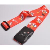 Wholesale Colorful Jacquard Personalised Luggage Straps With Removable Buckle from china suppliers