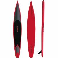 15PSI Pressure Fiberglass SUP Board High Density Red Color For Surfing / Racing