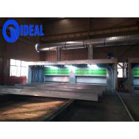 Quality Hot selling high efficiency environmental telescopic movable type spray booth for sale