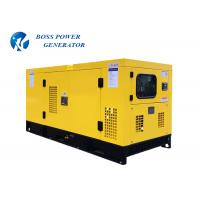 China 1125kva  Commercial Generators , Silent Power Generator Anti Vibration Mounted System on sale