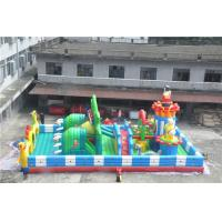 Quality 15x8M Inflatable Toddler Playground With Printing Logo / Backyard Obstacle for sale