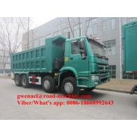 Wholesale 336/371HP Sinotruck Howo White/Red Obama Model  Heavy Duty Dump Truck For Ethiopia Djiouti, RHD/LHD from china suppliers