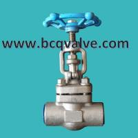 Quality HIGH PRESSURE forged stainless steel GLOBE VALVE for sale