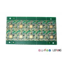Wholesale Industry PCB Control Board Immersion Gold Surface Finish Green Solder Mask from china suppliers