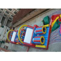 Wholesale Giant Adult Inflatable Obstacle Course / Moon Bounce Obstacle Course Rental from china suppliers