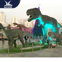 Wholesale Outdoor theme park high quality animatronic dinosaur for sale from china suppliers