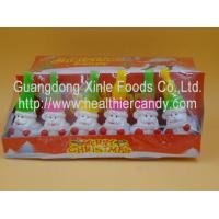Wholesale Santa Claus Sweet Crispy Mini Chocolate Beans Multi Color Low Energy 7g * 24 Pcs from china suppliers