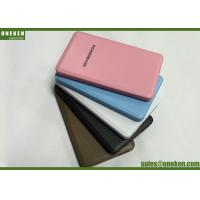 Buy cheap Micro USB Power Bank 4000mAh , Portable Mobile Battery Charger Various Colors from Wholesalers