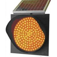 China Lower Price Solar Energy Traffic Warning Yellow Lamp for Road Safety on sale