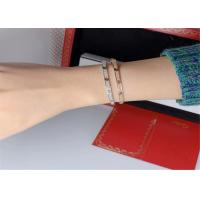 Wholesale 18k Pink Gold Cartier Love Bracelet Pave Diamonds Small Model N6710717 from china suppliers