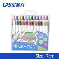 Wholesale Paraffin Wax Twisted Water Based CrayonsShort Student Drawing Crayons 110mm from china suppliers