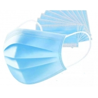 Wholesale Top quality 3Ply Non Woven Air Anti Virus and Dust disposable Surgical Medical Face Mask , surgical non woven 3 ply mask from china suppliers