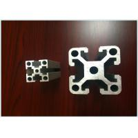 T6 T Slotted Structural Aluminum Profiles Extrusion For Cutting Bending Electrophoretic Coated for sale
