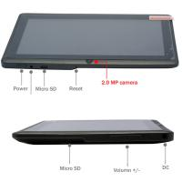 Quality 0.3mp t Front Camera Touchpad Tablet Pc A13 1ghz Ddr3 512mb for sale