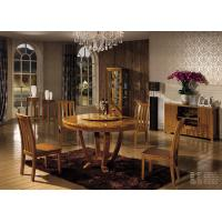 Wholesale Wooden dining set furniture round table/ wine cabinet/dining cabinet from china suppliers