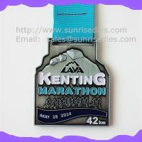 Wholesale Engraved Marathon running award medals, custom made engraved medals China manufacturer from china suppliers