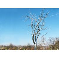 Wholesale Stainless Steel Tree Sculpture Withered , Outdoor Metal Tree Sculpture Garden from china suppliers