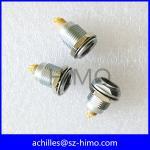 China Metal 9 pin female receptacle socket EGG equivalent to Lemo for sale