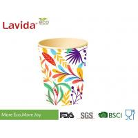 Wholesale Wearable Recycled Bamboo Fiber Cup Bright Color Smelless Non - Toxic BPA Free from china suppliers