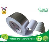 Quality One Side High Temperature Aluminum Foil Tape With Silicone Coated Glassine for sale