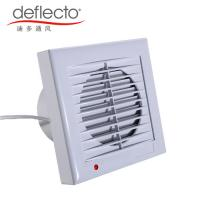 China Hot Sale Plastic Wall Mounted Exhaust Fan Kitchen Venting Bathroom Extractor Fan on sale